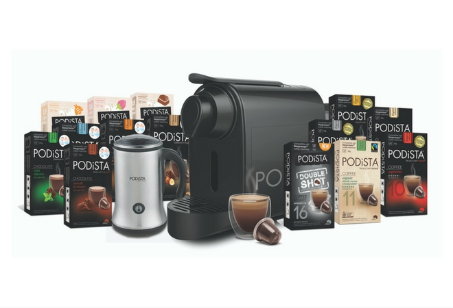 WIN a PODiSTA prize pack and a year's worth of coffee! This competition has now ended.