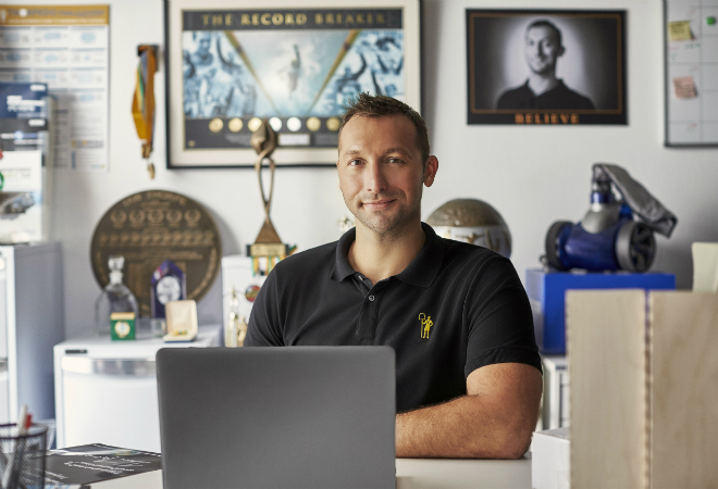 Ian Thorpe launches Optus small business Olympic campaign
