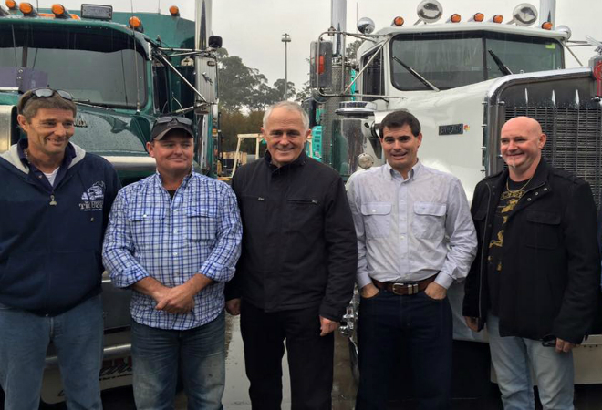 Small trucking businesses hang on the election outcome