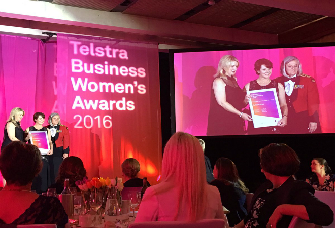 Compass Fertility boutique founder named Telstra ACT Business Woman of the Year