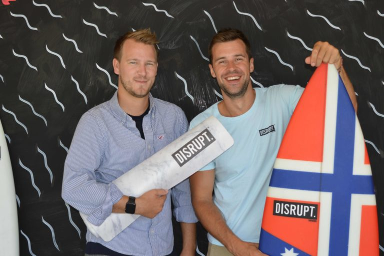 The startup business for extreme sports lovers celebrates its own win