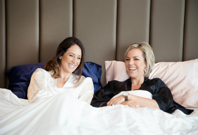 Dynamic Duo: Teaming up to start a sleep revolution