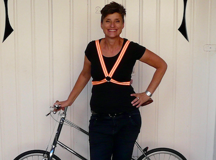 How this entrepreneur is making things safer for cyclists