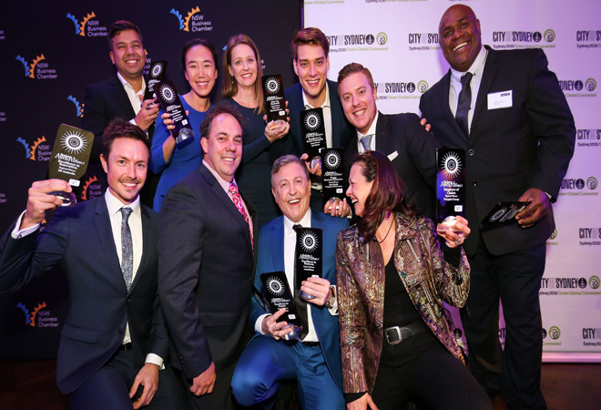 Iconic aussie swimwear brand aussieBum wins big at the 2017SydneyCityBusiness Awards