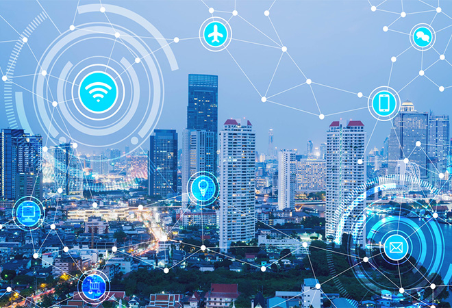 The fourth industrial revolution – the implications of smart cities and the internet of things