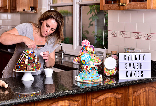 Cake maker extraordinaire Claudia Abrahams' smashing success