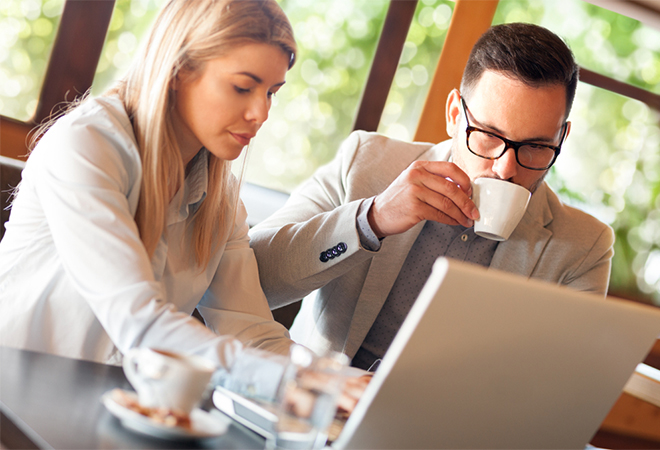 Coffee and conversations: the new office paradigm