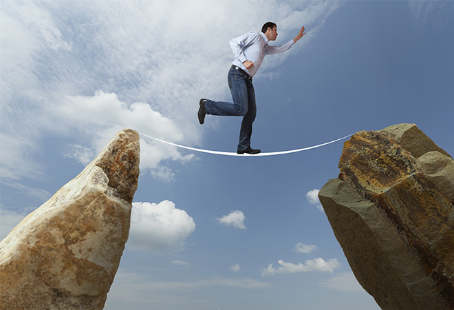 Why jumping into fear and failure can lead to success