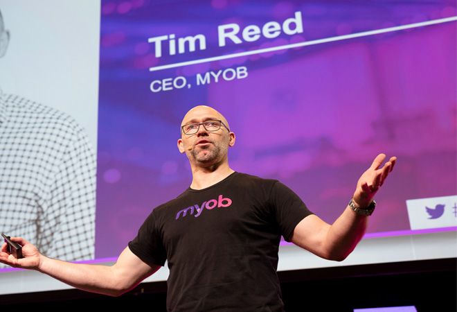 MYOB CEO Tim Reed steps down after 12-years