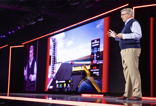 Formula One fans are in the driver's seat thanks to new tech from AWS