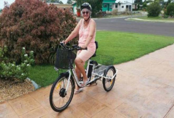 This cycle business is helping older women keep fit for life