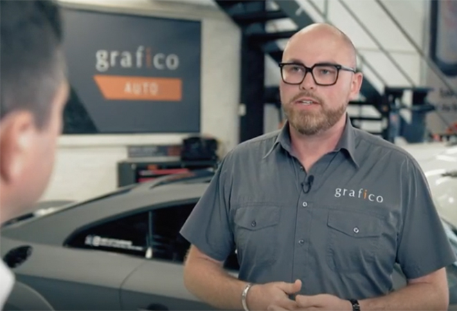 Grafico gets some advice on small business financing