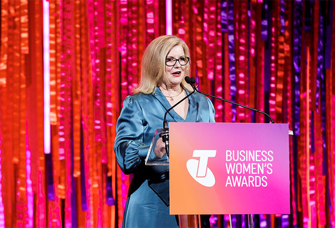 Aged care innovator Natasha Chadwick named 2019 Telstra Australian Business Woman of the Year