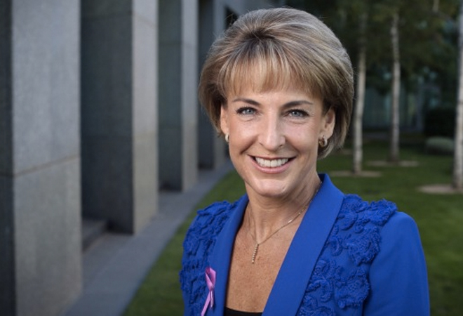 Michaelia Cash returns as Minister for Small and Family Business