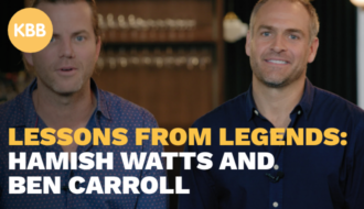 Lessons from Legends: Hamish Watts and Ben Carroll