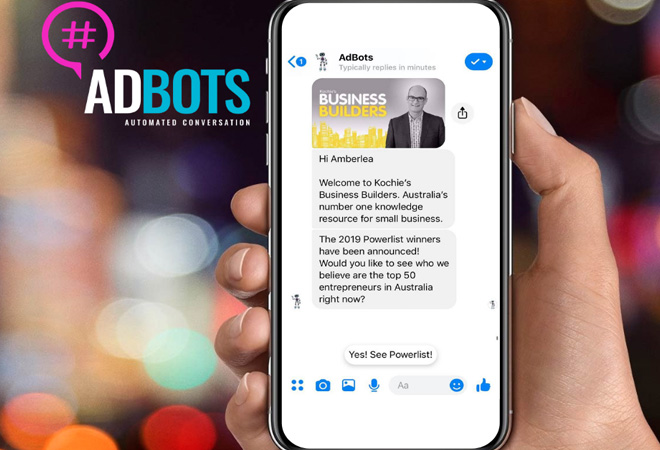 Messenger and Chatbots: The future of small business communication