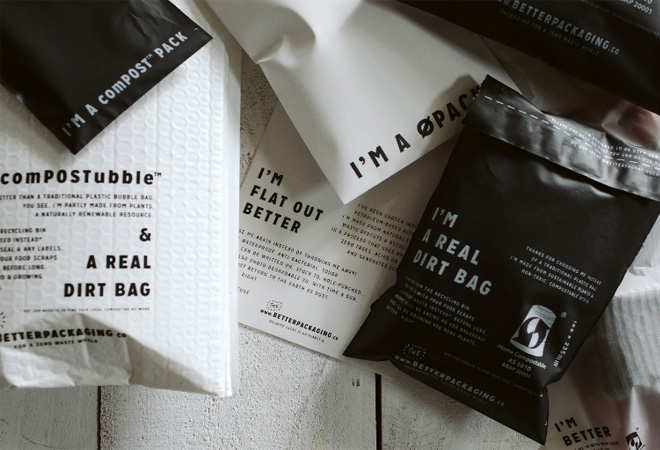 Reduce reuse recycle: better packaging for a better world
