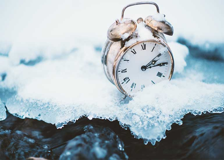 Frozen in time: businesses freeze marketing efforts