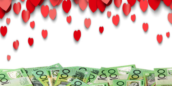 Put finance before romance this Valentine's Day