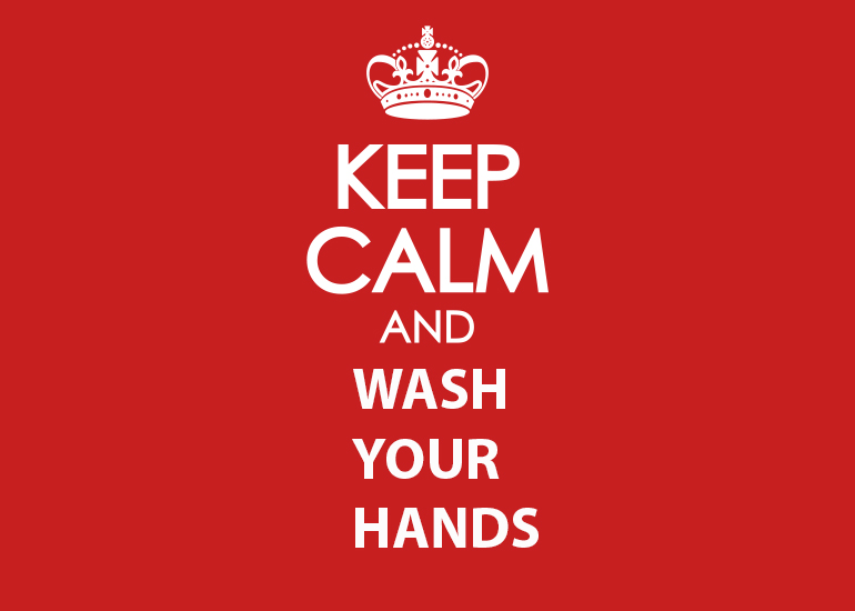 Aussie manufacturer says keep calm and wash your hands!
