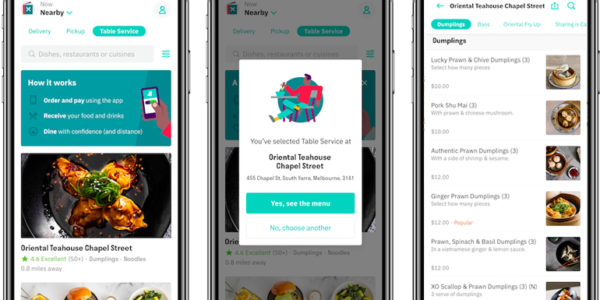 Deliveroo makes social distancing easy with new 'Table Service' feature
